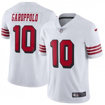 49ers jersey white