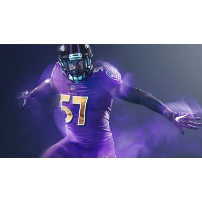 ravens color rush jersey for sale