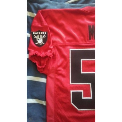 red oakland raiders jersey