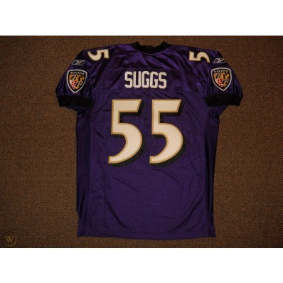 terrell suggs jersey authentic