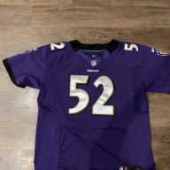 ray lewis jersey stitched